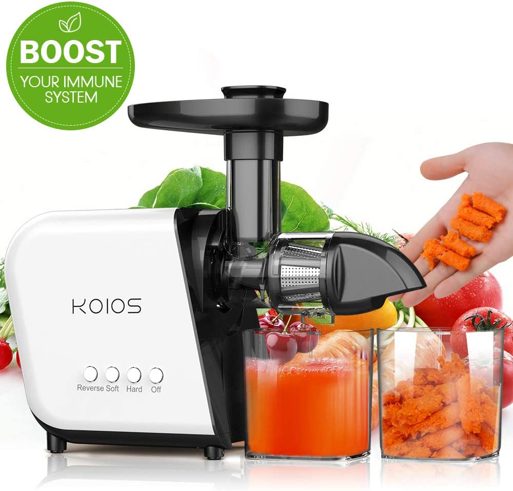 KOIOS Cold Press Juicer Machines with Brush