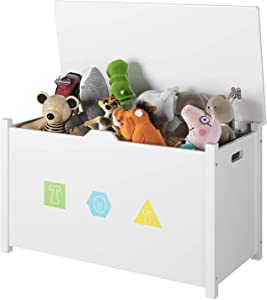 juguetera de madera tipo baul