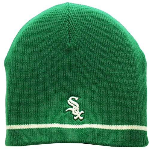 Patricks Day Knit Cap (Chicago White Sox St. Patricks Day Skull Knit Cap)