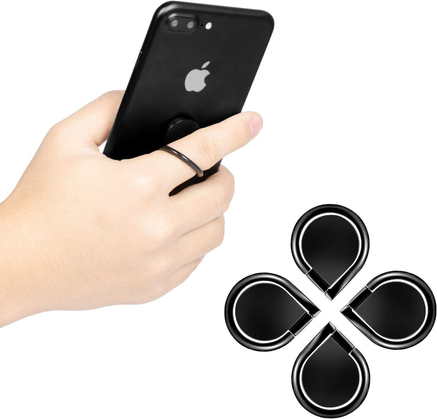 All Most Smartphone and Other Device Phone Ring 4-Pack Phone Ring ...