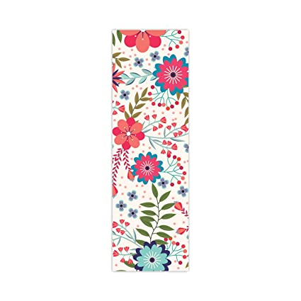 YaYa Cafe 12 x 48 inches Floral Flower Statuesque Printed Table Runner for Dining Table
