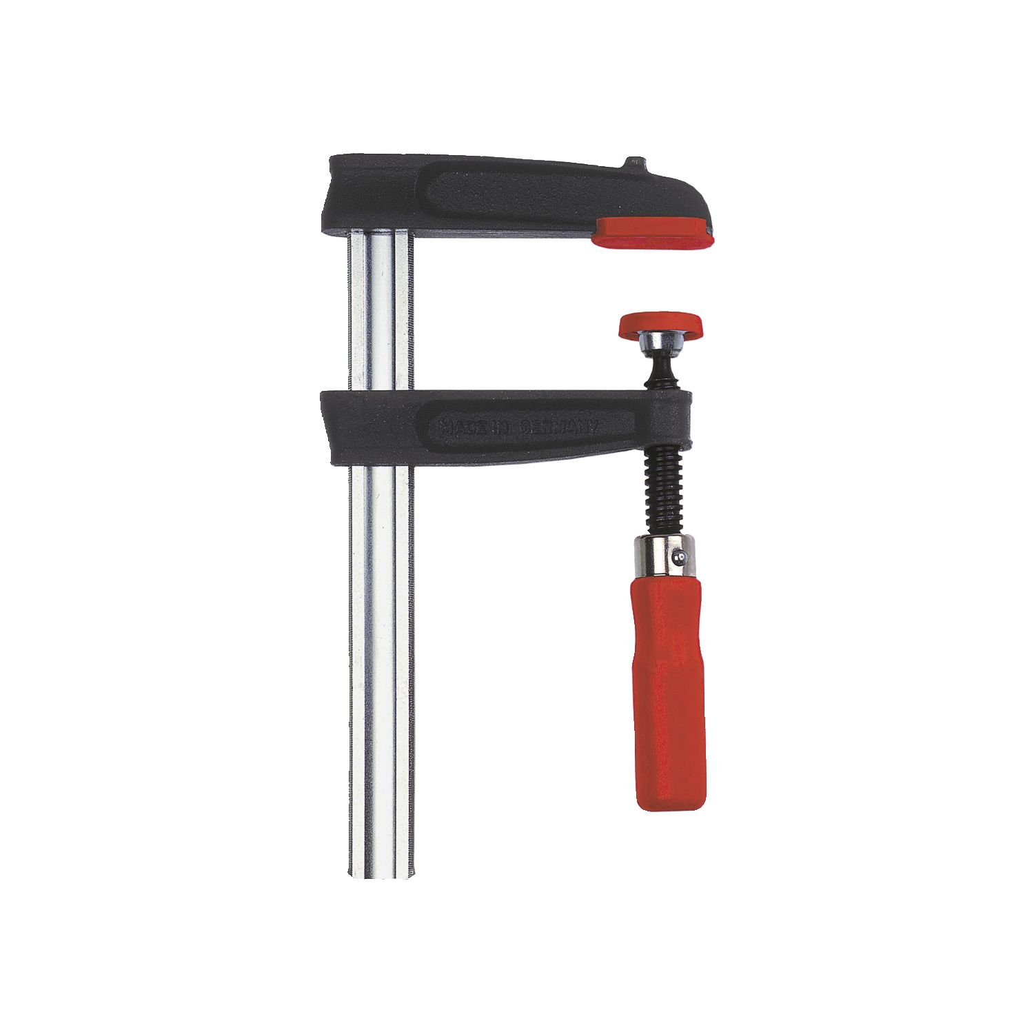Bessey TPN16BE Screw Clamp Tpn-Be 6.3In/3.15In of Cast-IRON, Black/Red/Silver by Bessey (Image #1)