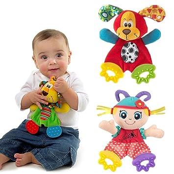 Muñeca de felpa para bebé recién nacido, juguete de felpa con diseño ...