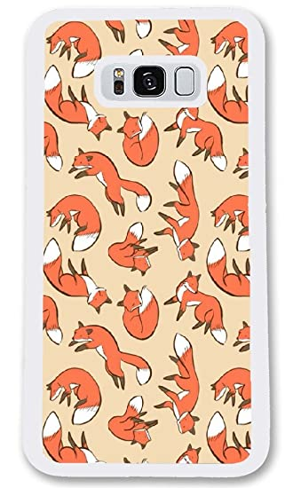 b7cf792000a Amazon.com  Personalize Samsung Galaxy S8 Cases - Foxes! Foxes ...