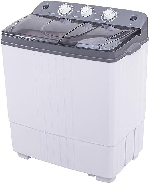 Mini cubo compacto portátil doble 16 libras lavadora total lavadora España Spinner: Amazon.es: Hogar