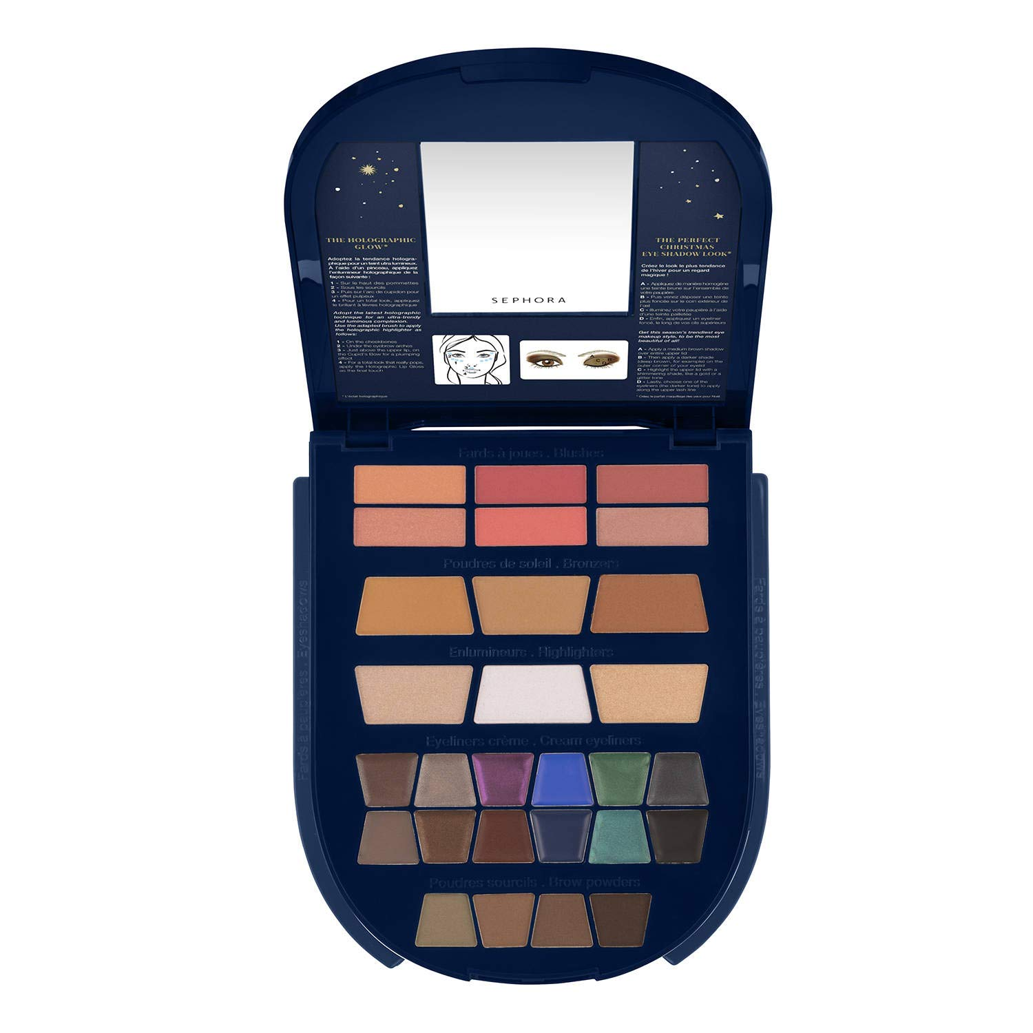 Sephora Once Upon A Night Makeup Palette - Holiday Blockbuster Palette by SEPHORA COLLECTION