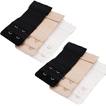 lexgo 3pcs Assorted color extensor de sujetador de las mujeres, Size C: Amazon.es: Hogar