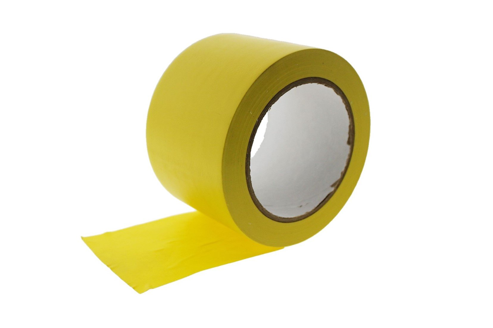 3'' Yellow Vinyl Tape PVC Electrical Sealing Floor OSHA Safety Marking Natural Rubber Adhesive (2.83 in 72MM) 36 yard 7 mil