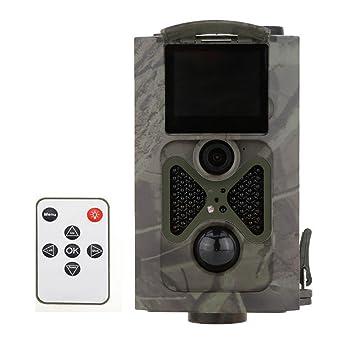 16 MP 1080P Grabadora de vídeo juego y Trail Caza Cámara, lapso de tiempo,