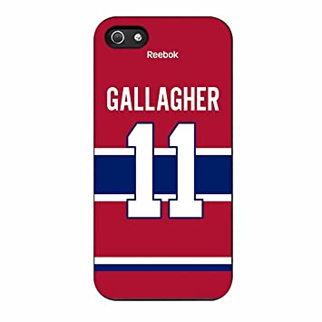 promo code 3e1d5 586d5 Montreal Canadiens Brendan Gallagher Jersey Back Case / Color Black Rubber  / Device iPhone 5/5s