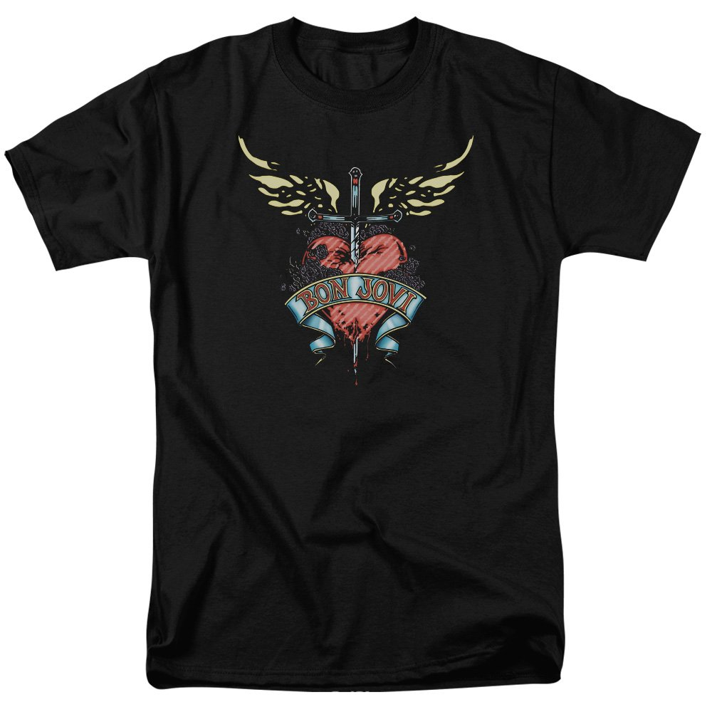 Bon Jovi Greatest Hits Art Adult Tshirt