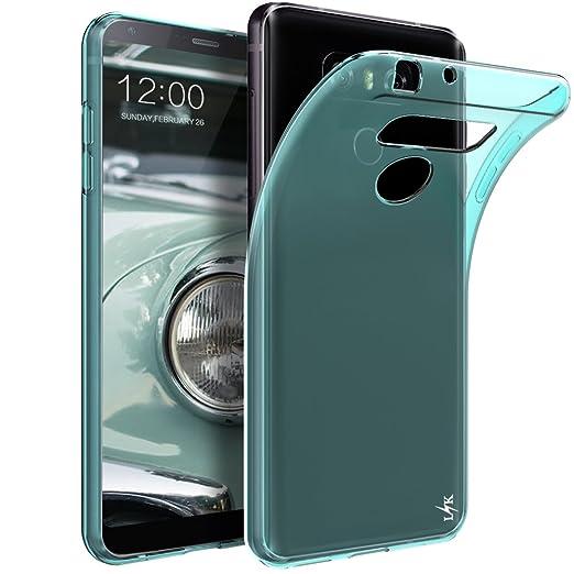 2 opinioni per Custodia LG G6 / LG G6 Plus, LK Case in Morbido Silicone di Gel Antigraffio in