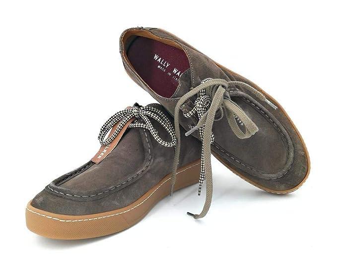 WALLY WALKER SCARPA MOKKA  Amazon.it  Abbigliamento 2114aeafb06