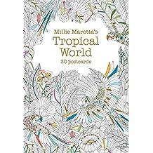Millie Marotta's Tropical World (Postcard Book): 30 postcards