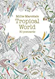 Millie Marotta's Tropical World (Postcard Book): 30 postcards (A Millie Marotta Adult Coloring Book)
