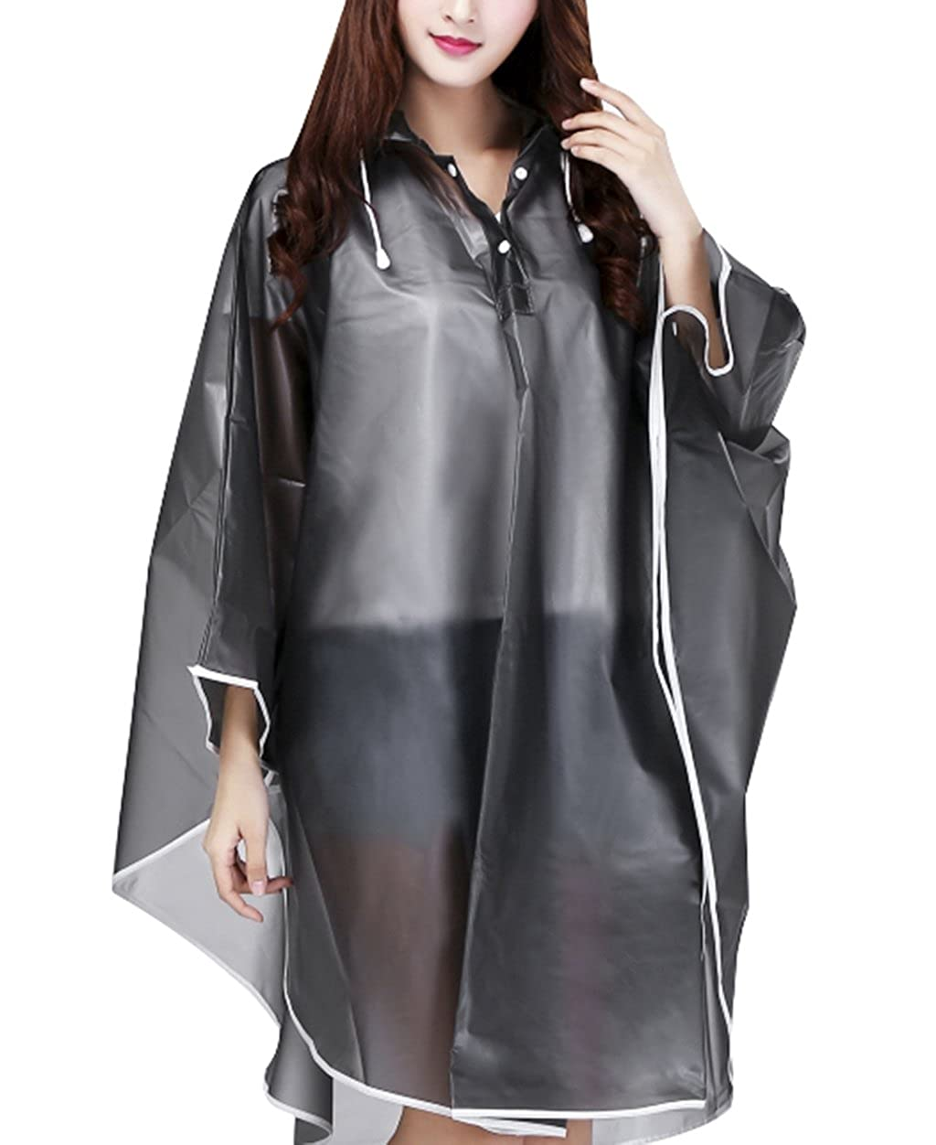 donna Poncho FakeFace Brand