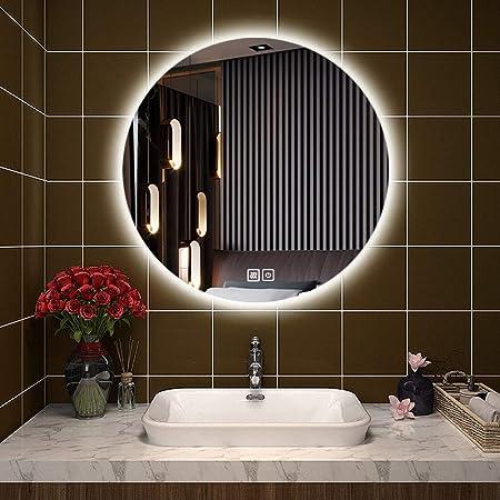 Specchio Bagno Retroilluminato Prezzi.Specchio Bagno Retroilluminato Con Illuminazione A Led Specchio