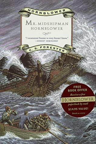 book cover of Mr Midshipman Hornblower