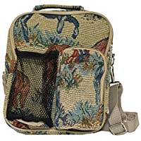 World Traveler 9 Inch Crossbody Day Pack, Horse, One Size