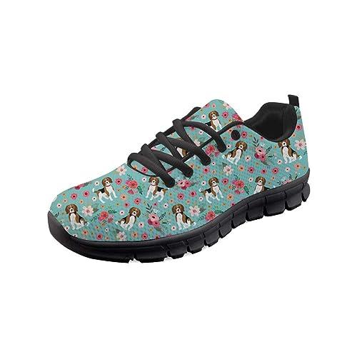 74701f6d4533b Showudesigns Fashion Classic Sport Sneaker Outdoor Walking Shoes for Women  Youth Girl