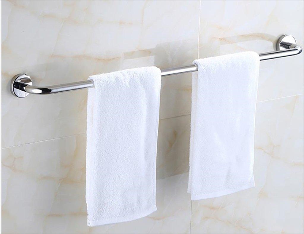 タオルバー/シングルロッドステンレス鋼厚いバスルームタオルバー壁掛けのバスルームタオル棚、 (サイズ さいず : 90センチメートル) B07DHDPLH8 90センチメートル 90センチメートル