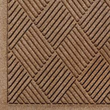 Andersen 221 Waterhog Fashion Diamond Polypropylene Fiber Entrance Floor Mat, Indoor/Outdoor, SBR Backing, 3-Feet Length X 2-Feet Width, 1/4-Inch Thick, Medium Brown