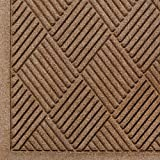 Andersen 221 Waterhog Fashion Diamond Polypropylene Fiber Entrance Floor Mat, Indoor/Outdoor, SBR Backing