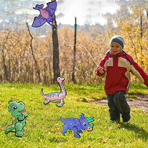Motiloo Dinosaur Balloon Painting Kit for Kids - 3D Creative Craft Art Painting Balloon kit 4 Pack for Boys & Girls -Fun DIY Coloring Balloons Toy Set Dinosaur