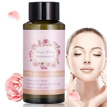 Rosenwasser Rose Water Reines Rosenwasser Gesichtswasser 100