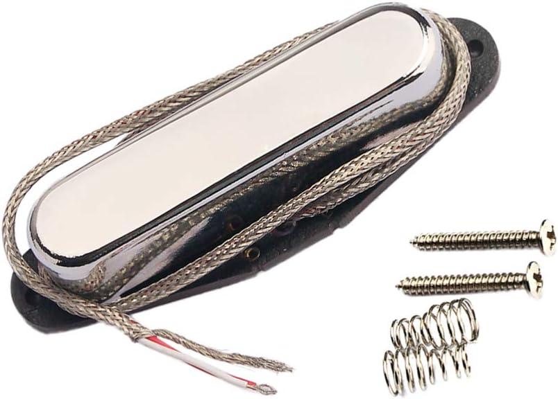 EXCEART Micros Guitare Chevalet Humbucker Alnico V 5 pour Fender Telecaster Tl Guitare /Électrique Pi/èces de Rechange