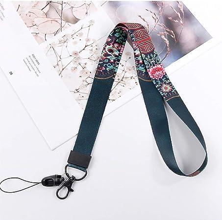 Toyvian 2 piezas correa de cord/ón para cuello fantasma cuello estampado llavero llavero titular de tarjeta titular de tarjeta para ni/ños halloween