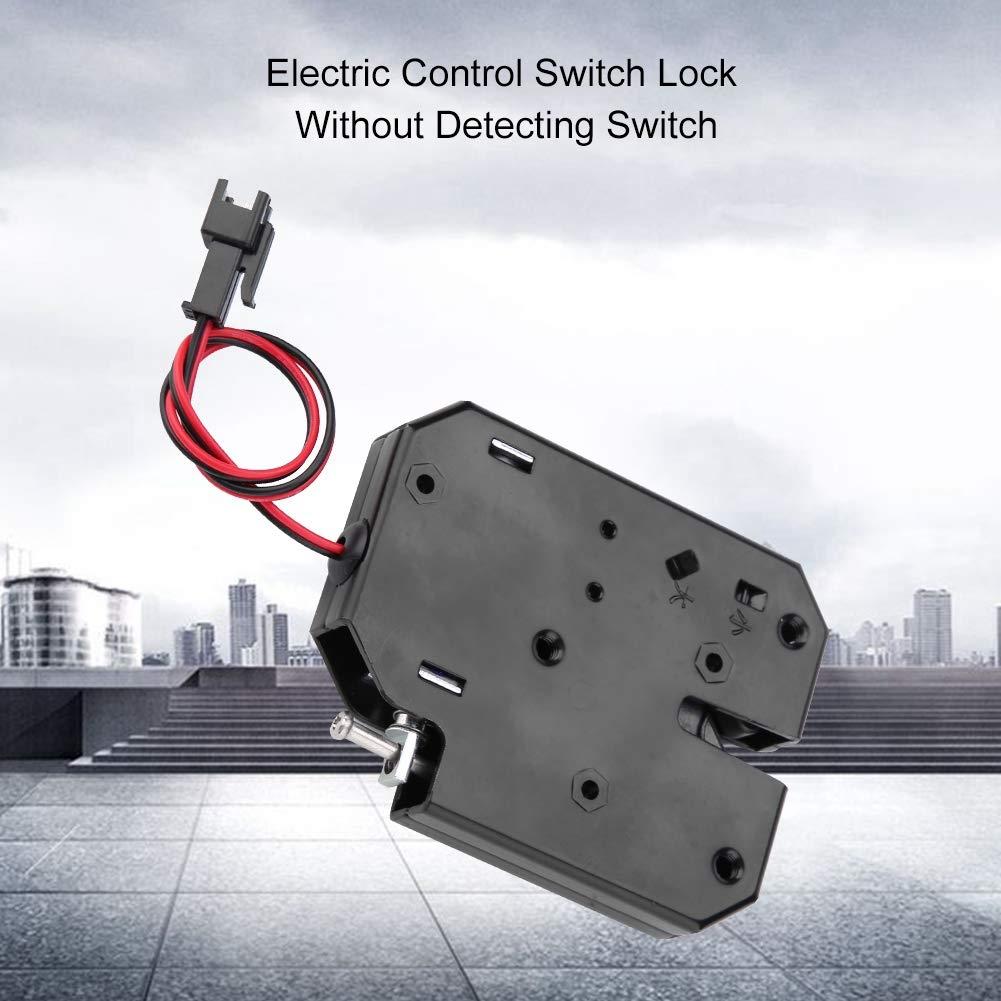 Verrou /électromagn/étique DC 12V Serrure de contr/ôle /électrique Tiroir Commutateur Verrouillage Casiers Verrouillage magn/étique intelligent Verrouillage Libre-service Sans D/étecteur
