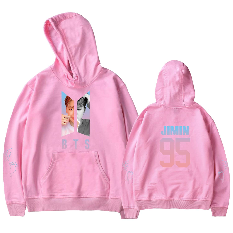 Xllife Kpop BTS Love Yourself Hoodie Suga Jin Jimin V Jung Kook Sweater Jacket