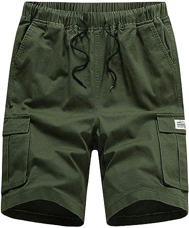 Herren Unifarben Sommer Freizeit Sports Shorts Jogginghose Kurze Hose Sweatpants
