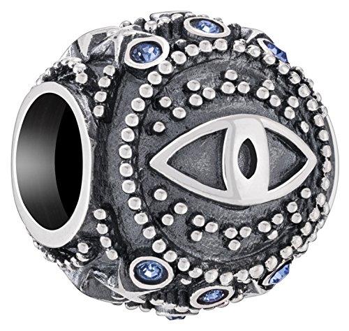 Chamilia Authentic Spiritual Totem Eye of Protection Bead | Charm ()