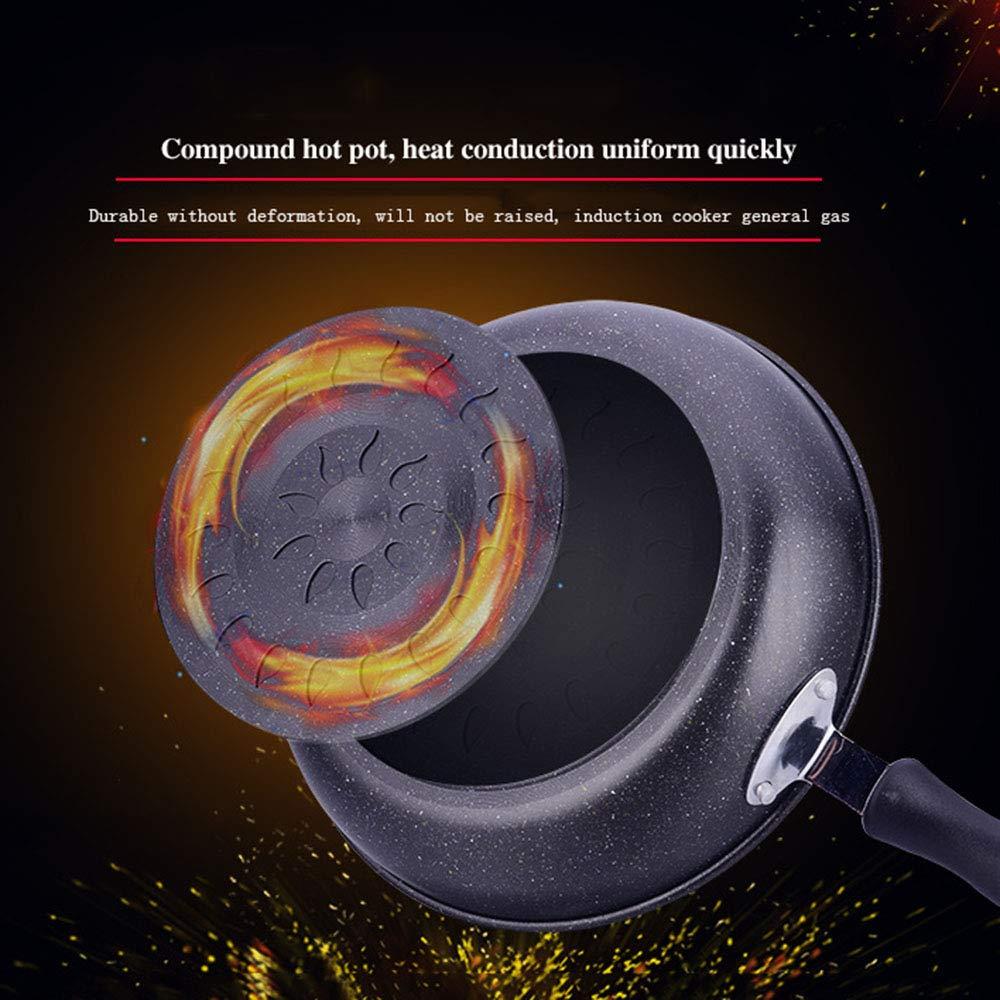 YL Sartén Antiadherente, woks de 26 cm y sartenes salteadas ...