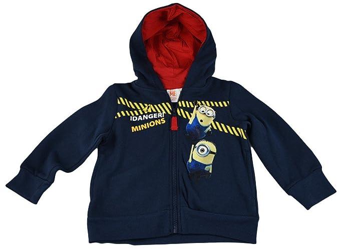 Universal Pictures Minions Sweatshirts-sudadera Niños azul oscuro 4 Años: Amazon.es: Ropa y accesorios