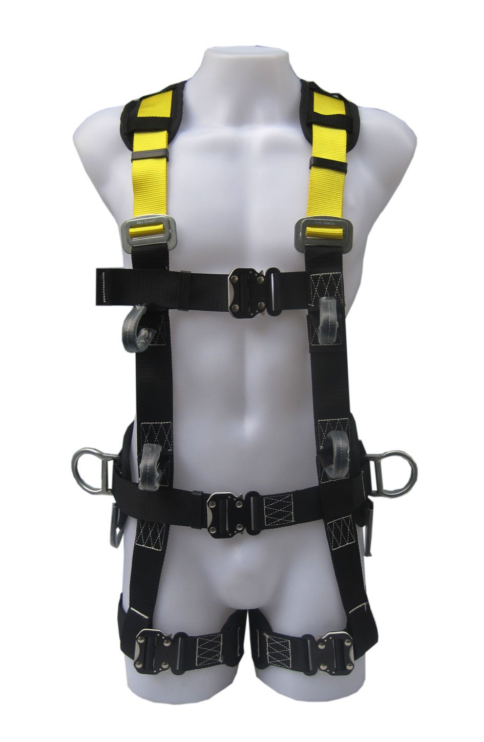 Commando Fall Protect Full-Body Safety Harness with Lanyard