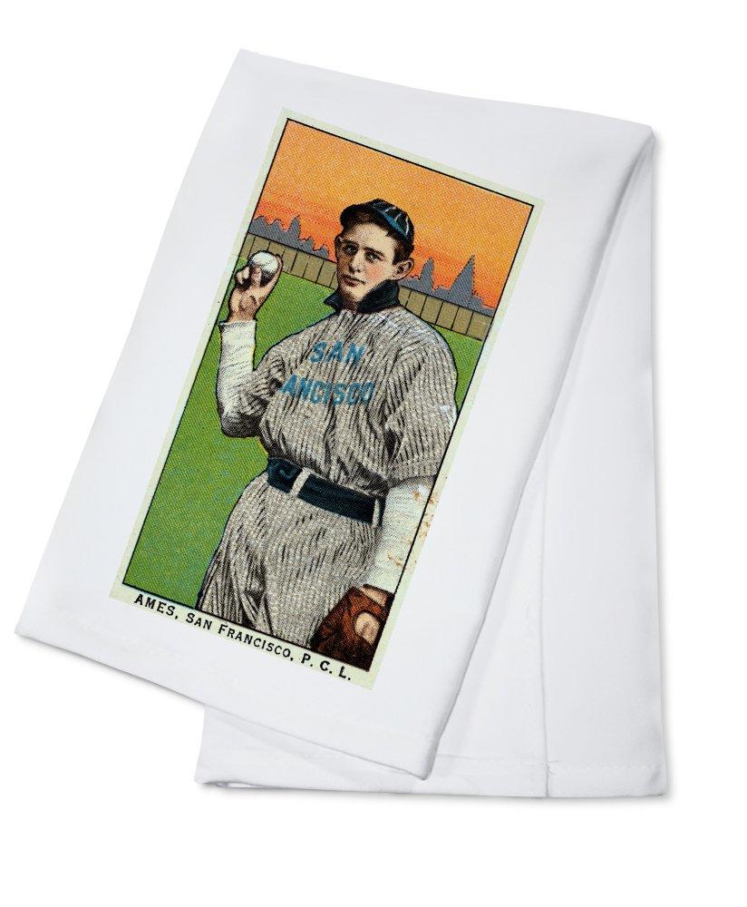 San Francisco Pacific Coast League – Ames – 野球カード Cotton Towel LANT-23570-TL Cotton Towel  B0184B9912