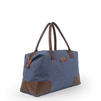4899626c380b Amazon.com: Ybriefbag Unisex Canvas Travel Bag, Large Capacity ...