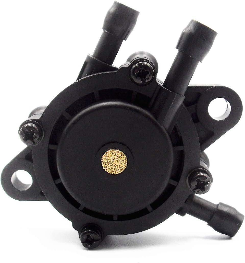 RepairWill 491922 808656 Fuel Pump for Briggs Stratton 691034 692313 808492 Honda 16700-Z0J-003 Kawasaki 49040-7001 Kohler 24 393 04S/24 393 16S John Deere Lg808656 M138498 M145667