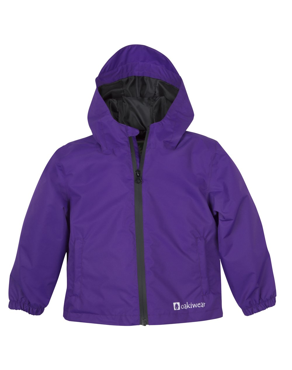 Oakiwear Kids Core Rain Jacket Galaxy Purple 3T by Oakiwear