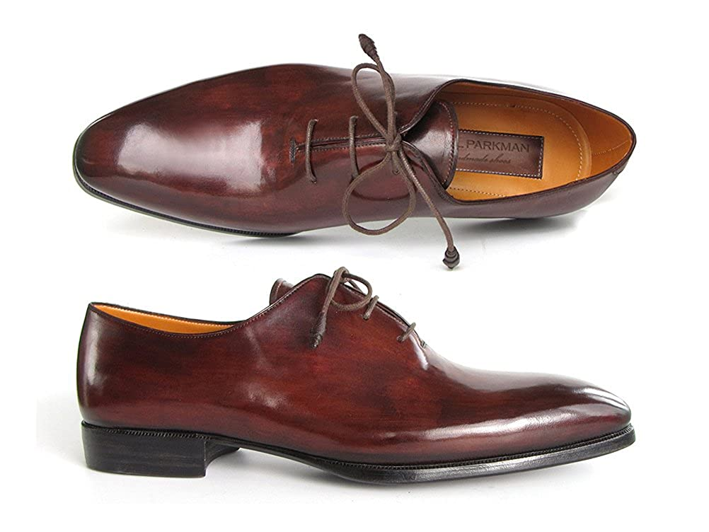 - Paul Parkman Herren Oxford Kleid Schuhe Braun & Bordeaux (ID   22t55)