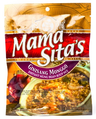 (Mama Sitas Ginisang Monggo Instant Mung Bean Soup Mix 60g)