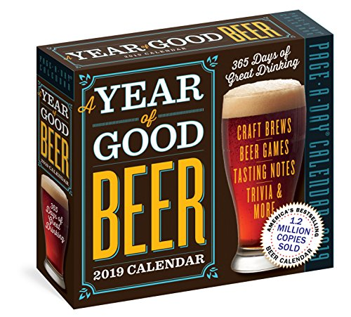 Year of Good Beer Page-A-Day Calendar 2019 by Workman Publishing