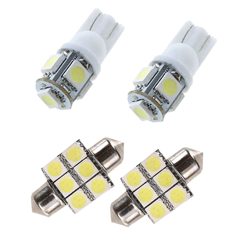 Muchkey Car Led Interior Light Bulb For Axela Classic hatchback sedan Replacement Car Dome Light Bulb Kit 4pcs White