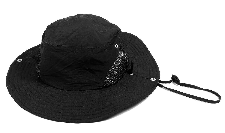 b515f880 Amazon.com : Simplicity Unisex Safari Outback SPF 50 UV Protection Foldable  Sun Hat, Black : Sports & Outdoors