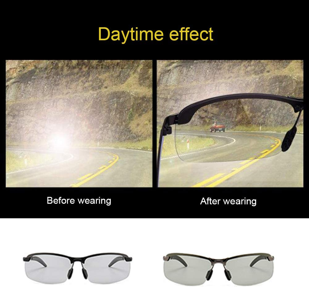 GerTong Polarized Glasses Anti-Glare Night Driving Glasses UV Protection Eyewears Sunglasses Sports Fishing Driving Polarized Sunglasses for Men Women
