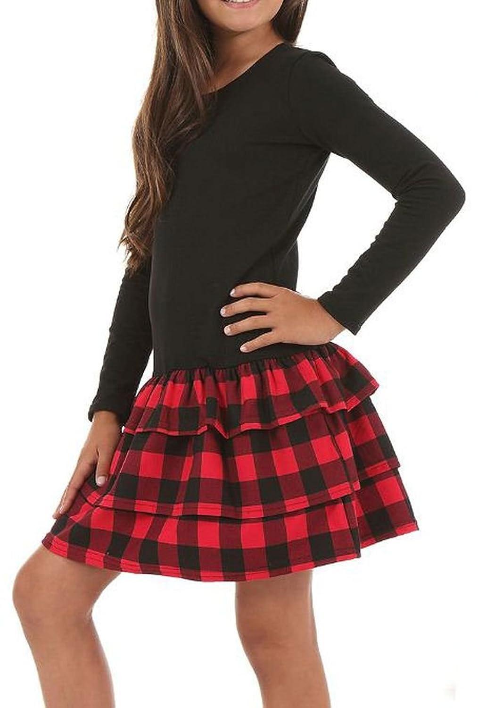 2b317395 De alta calidad Dykmod - Vestido - ajustado - Manga Larga - para niña