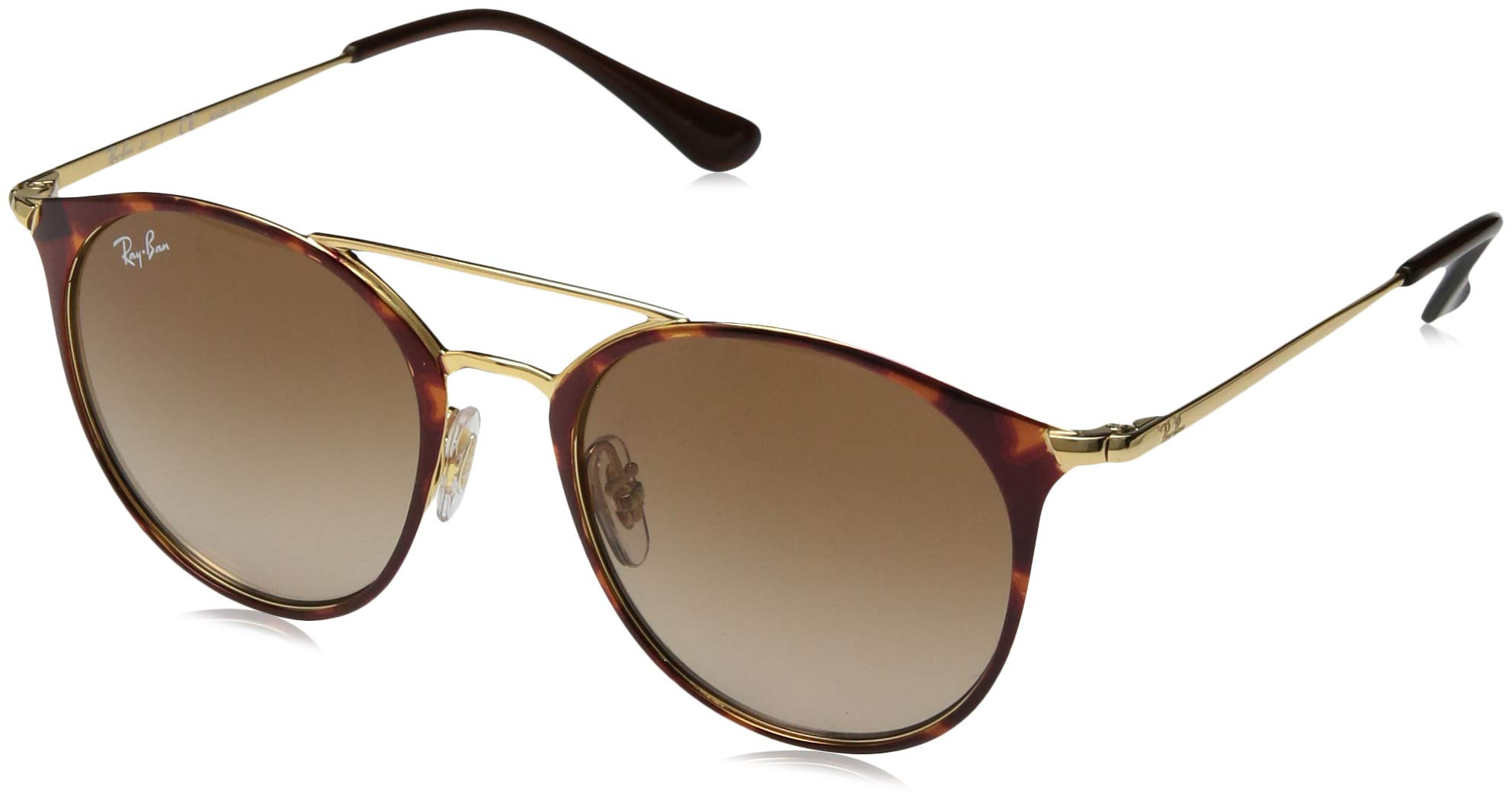 Ray-Ban Girls' 0rj9545s Round Sunglasses GOLD ON TOP HAVANA 50.8 mm